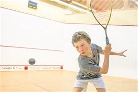 David Maier spielte im heimischen Squash House gross auf.?(Foto: Michael Zanghellini)