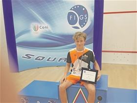 In der Kategorie Knaben Unter 17 durfte sich der SRCV-Spieler David Maier über den ersten Platz freuen.?(Foto: ZVG)