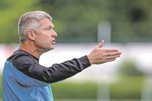 Erik Regtop hat mit dem USV Eschen/Mauren ein klares Ziel vor Augen.?(Foto: RM)
